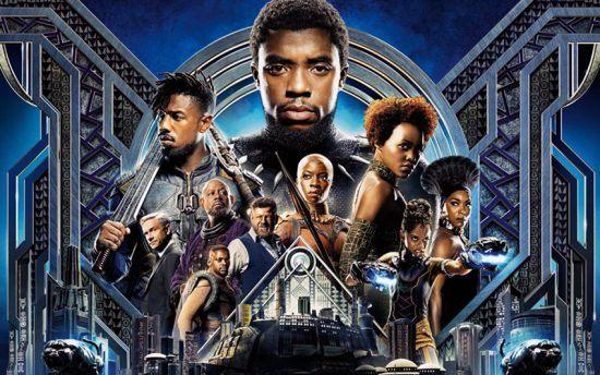 "Filmposter ""Black Panther"" / Walt Disney Studios Motion Pictures"