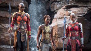 Una de las escenas de Black Panther