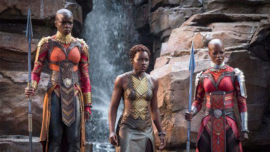 """3 Frauen aus dem Film """"Black Panther"""""""