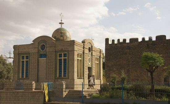 Chapel of the Tablet in Axum, Ethiopia, home to the Ark of the Covenant