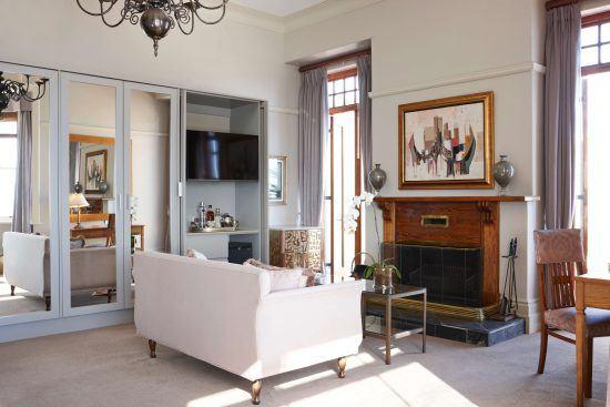 Inside Ellerman House's deluxe house room