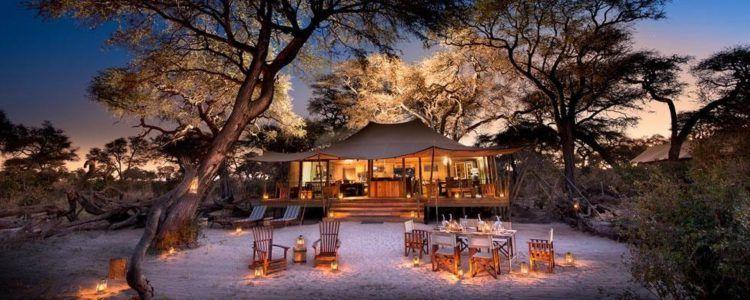 Somalisa expeditions camp au Zimbabwe, offre safari d'African Bush Camp