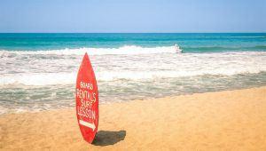 Jeffrey's Bay, Sudáfrica, es una de las mejores playas de África para hacer surf