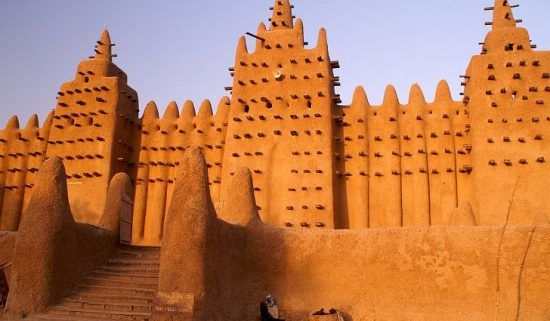 An Ancient Mosque in Timbuktu