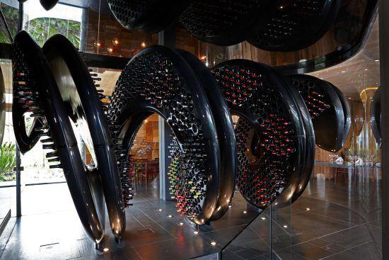 La cave à vin, trésor d'Ellerman House