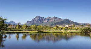Stellenbosch forma parte de la comarca vinícola del Cabo.