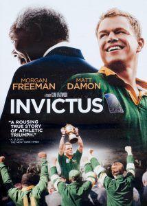 Portada de la película Invictus, la adaptación al cine de la novela de John Carlin