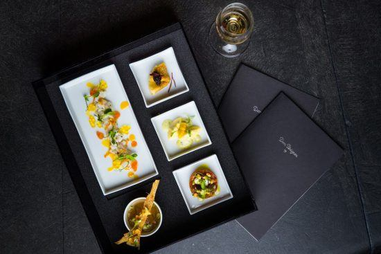 Ellerman House's cuisine is celebrated by all diners.