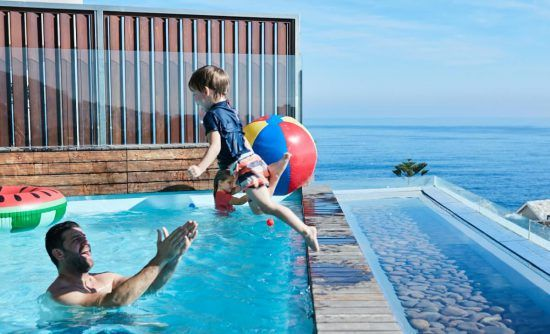 Villa One at Ellerman House welcomes children of all ages.