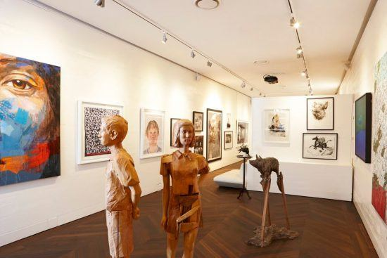 An inside look at Ellerman House's art gallery, home to a vast collection of contemporary South African artwork.