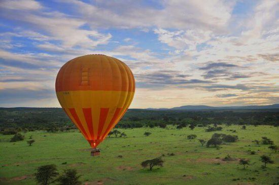 Exploring its glorious landscapes via hot air balloon is one of the must-do activities in Zambia