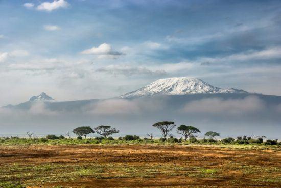 """Una vista impresionante del """"techo"""" de África, Kilimanjaro. Foto: Sergey Pesterev"""