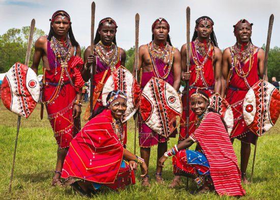 Young maasai warrior