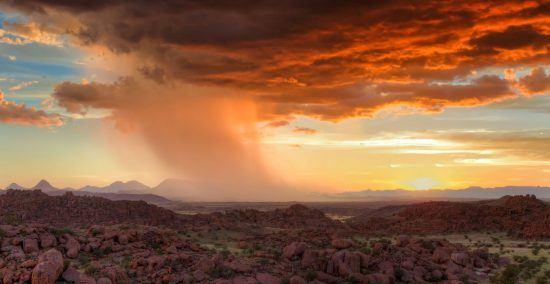 Die abwechslungsreiche Landschaft von Namibia