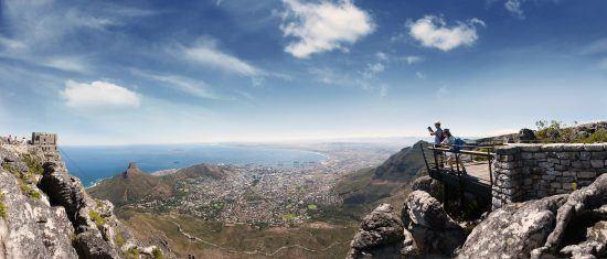 Impresionantes vistas desde lo alto de Table Mountain