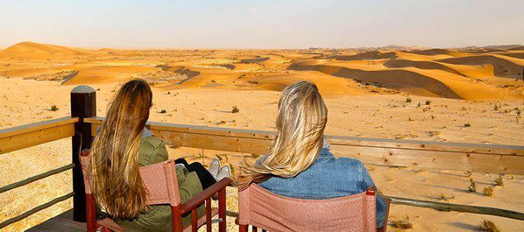 Traumblick in der Desert Breeze Lodge