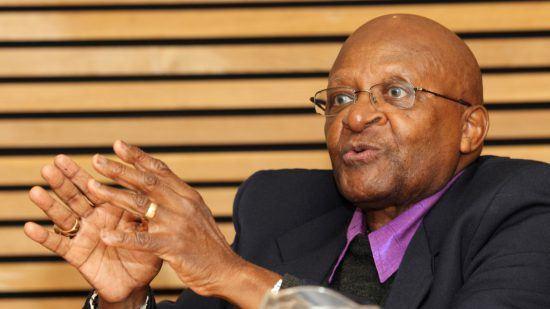 Desmond Tutu Nahaufnahme
