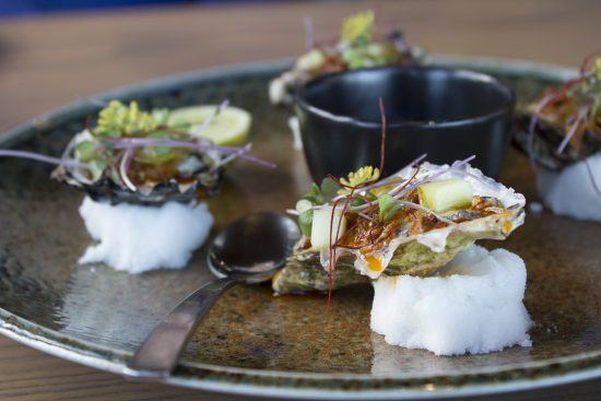 Fine Dining in Kapstadt: Leckeres Gericht im Restaurant Chef's Warehouse in Constantia