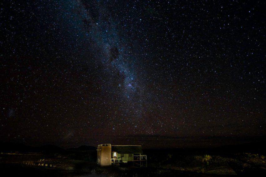 Milchstraße & Co. in der Kulala Desert Lodge