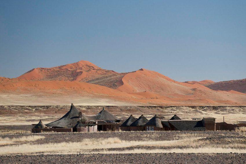 Traumhafter Blick von der Kulala Desert Lodge
