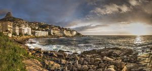 Atardecer en Bantry bay, Ciudad del Cabo