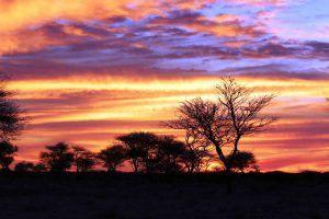 Atardecer en África, Namibia