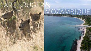 Parc Kruger Mozambique - safari et plage