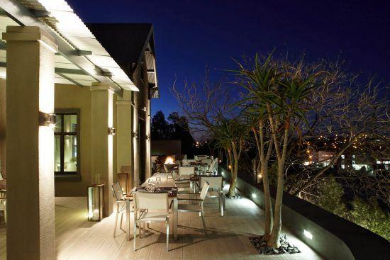 Abendstimmung im Olive Exclusive All-Suite Hotel