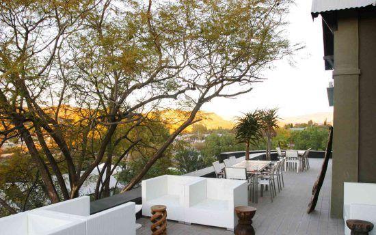 Traumblick von der Veranda des Olive Exclusive All-Suite Hotels