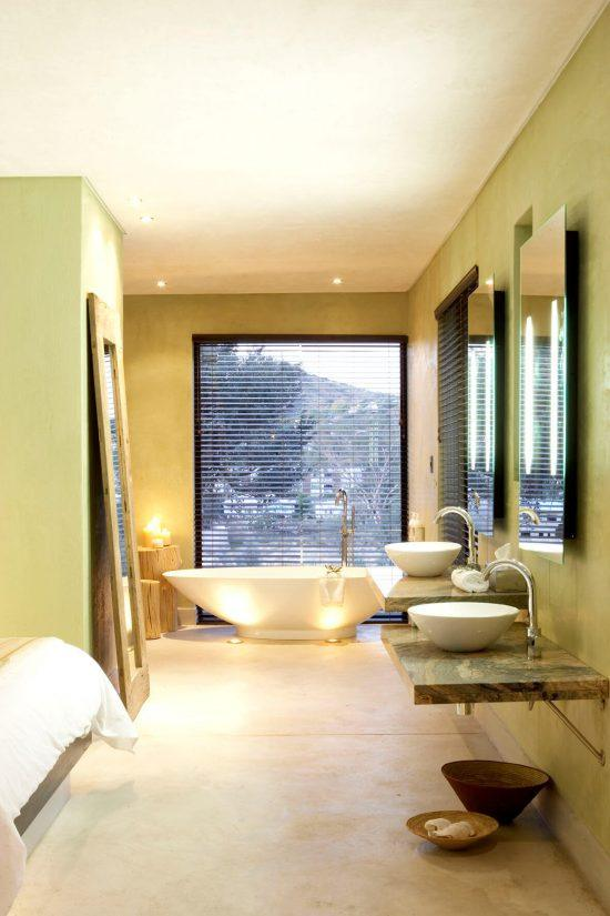 Badezimmer im Olive Exclusive All-Suite Hotel