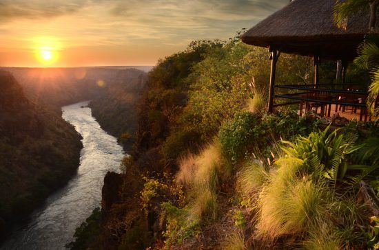 Gorges Lodge is a 22 km road transfer from Victoria Falls airport
