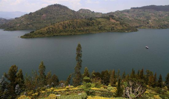Lake Kivu was formed by a tectonic rift