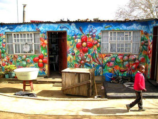 Arte urbano en Soweto