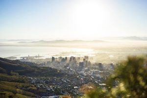 Le Cap au petit matin, une des villes d'Afrique à ne pas manquer