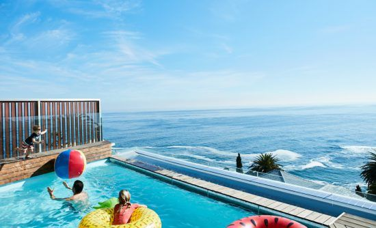 Petit plongeon dans la piscine de la Villa One d'Ellerman House
