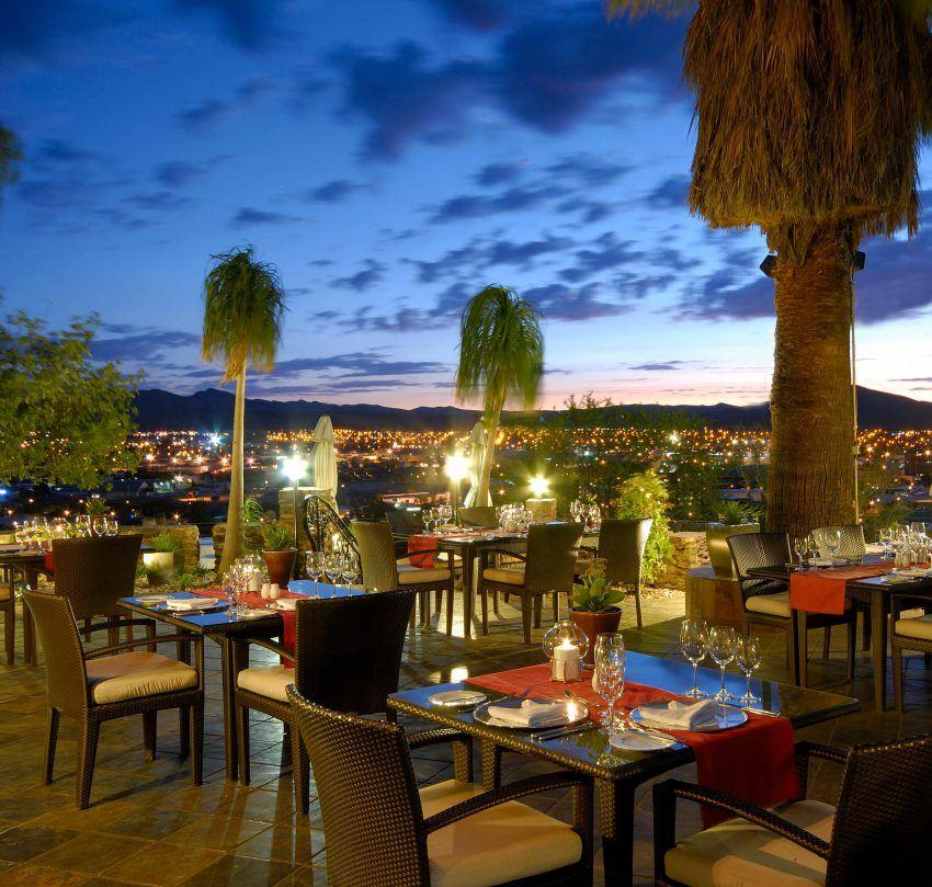 Ausblick vom Hotel Heinitzburg