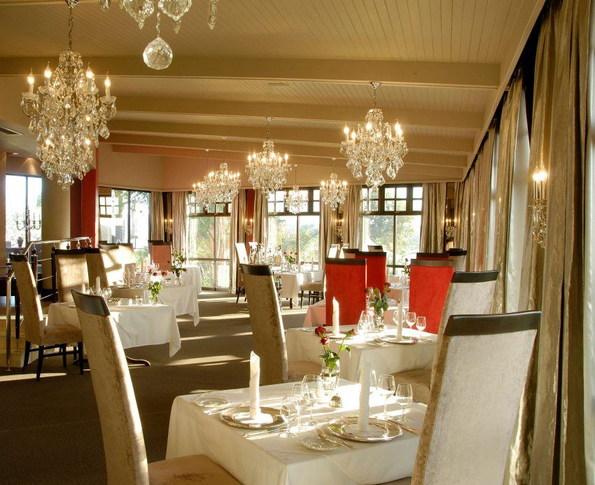Restaurant im Hotel Heinitzburg