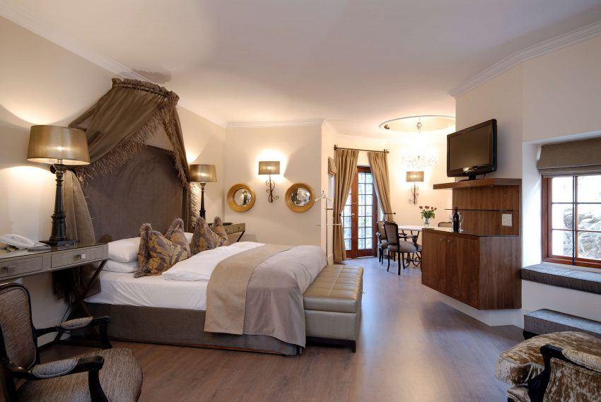 Exklusives Zimmer im Hotel Heinitzburg