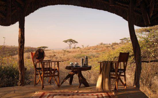 Intime et reculé, Lewa Safari Camp est le lieu idéal pour une demande en mariage avec ses vues sur la brousse.