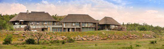 Vista panorâmica de Mhondoro Villa. Foto: Rhino Africa