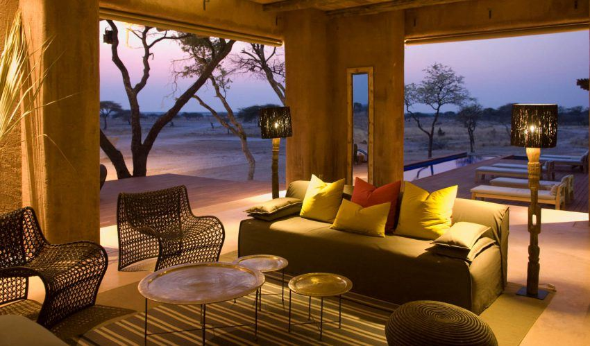Abendstimmung in Onguma The Fort