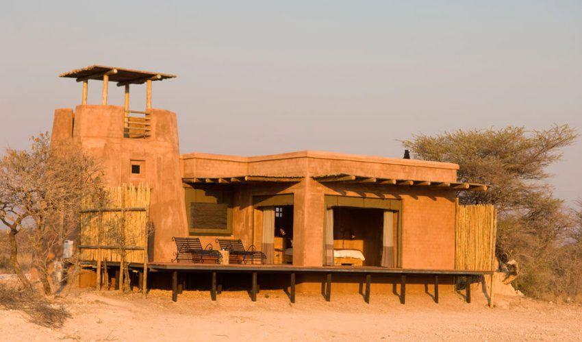 Großzügige Suiten in Onguma The Fort