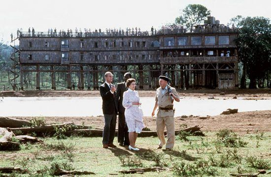 Treetops Hotel in Kenya is one of the Royal Family's favourite places to stay in Africa and it is where Princess Elizabeth became queen.