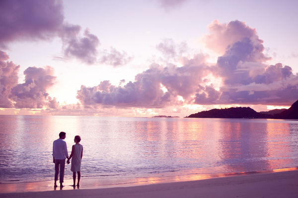 A romantic getaway on Praslin island