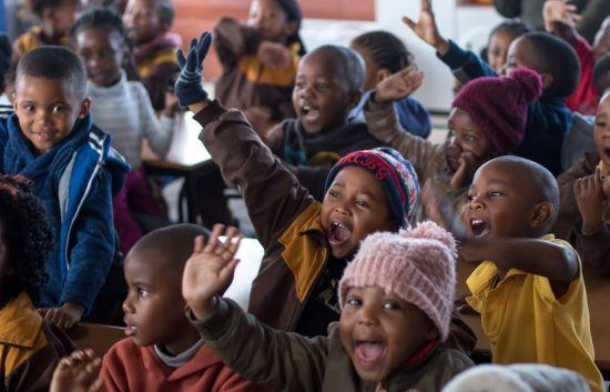 Food for Africa: Children in South Africa