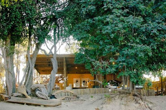 Victoria Falls Island Lodge's sister lodge Victoria Falls River Lodge is just a short cruise away