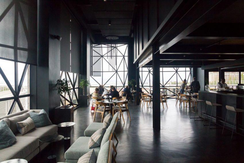 Modernes Design im Zeitz MOCAA Restaurant