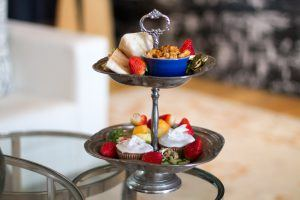 MannaBay high tea caters to various dietary requirements as they are a luxury five star boutique hotel