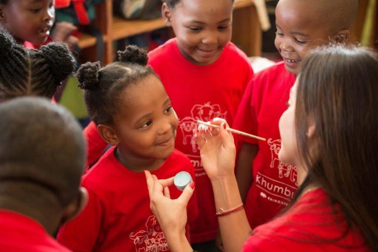 Khumbulani, centre d'éducation pour enfants infectés du virus du Sida.