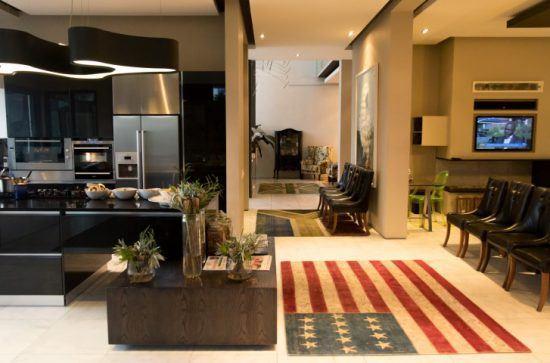 Wohn- und Essbereich im MannaBay